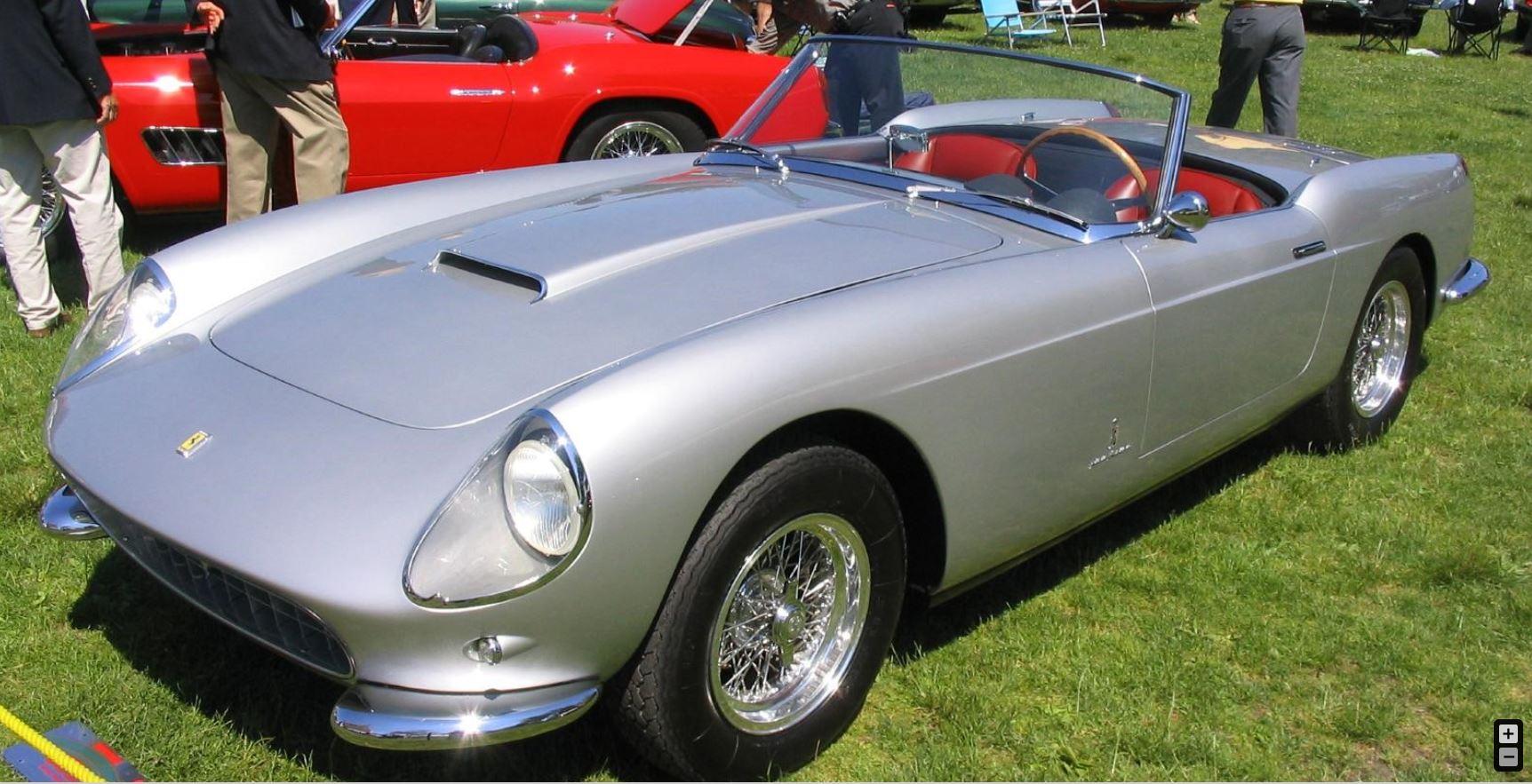 stolen Ferrari 250 GT VIN 0799GT pic7